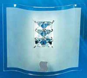 Светильник настенный 10-74631 «Cristal» прямоугольник
