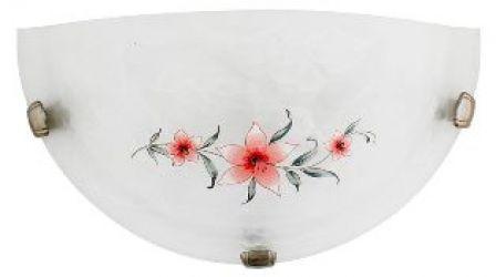 Светильник настенный 11-91959 «Difiori» 1/2 розовый