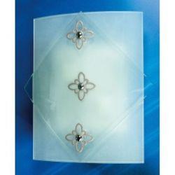 Светильник настенный 10-74518 «Donna» серебряный