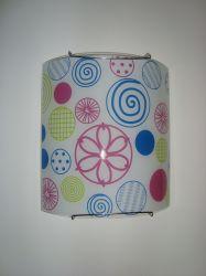 Светильник настенный 21-80618 «Snella» розовый