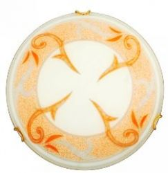 Люстра потолочная 13-45907 «Regina» 30 оранжевый