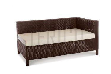 Модуль угловой левый «Египет» 80*150 с подушкой для сидения