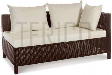 Модуль угловой левый «Египет» 80*150 с декоративной подушкой