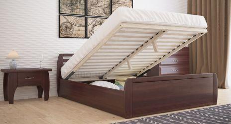 Кровать двуспальная «Анжелика» с пневмо механизмом