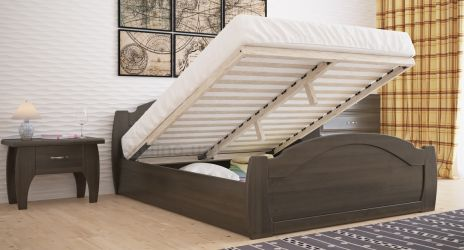 Кровать «Регина стандарт» с пневмо механизмом 140*190