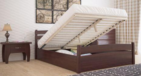 Кровать двуспальная «Токио» с пневмо механизмом