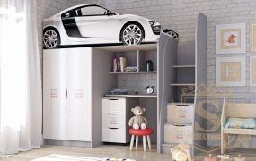 Фото Кровать-горка «Audi» - sofino.ua