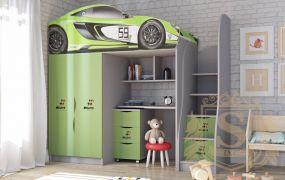 Фото Кровать-горка «McLaren» - sofino.ua