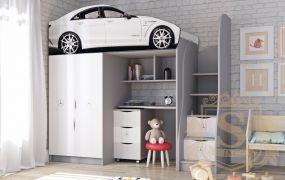 Фото Кровать-горка «Mercedes» - sofino.ua