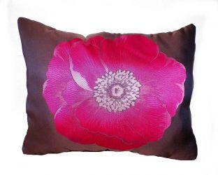 Подушка декор панно 18731 «Цветочек» 50*60