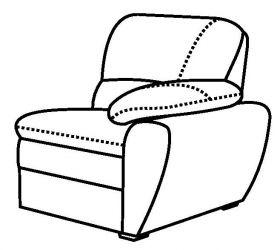 Кресло боковое «Манчестер»
