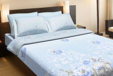 Комплект «Летний голубой» двуспальный