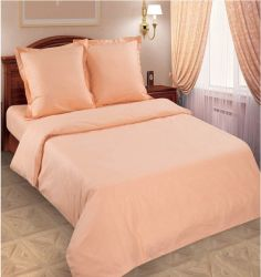 Комплект «Персик» гладкокрашеный двуспальный