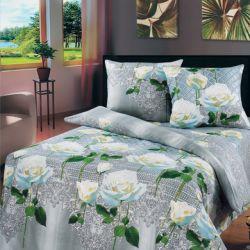 Комплект «Белые розы» двуспальный