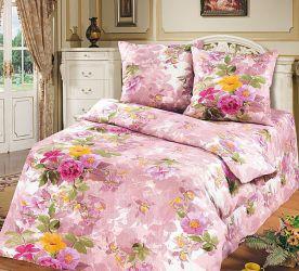 Комплект «Весенний прованс» розовый евростандарт