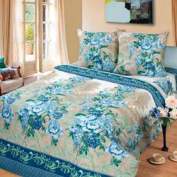Комплект «Гобелен» голубой двуспальный
