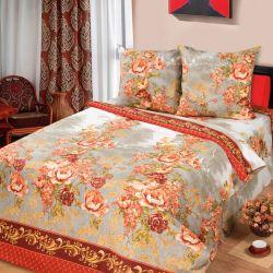 Комплект «Гобелен» красный двуспальный