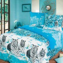 Комплект «Зимние тигры» двуспальный
