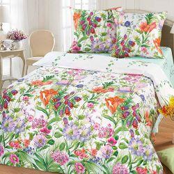 Комплект «Цветочная фантазия» двуспальный