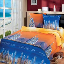 Комплект «Город мечты» двуспальный