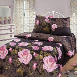 Комплект «Ночная роза» полуторный