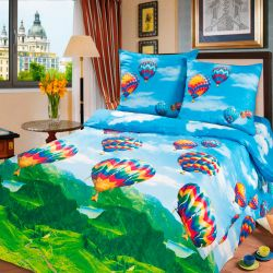Комплект «Парад воздушных шаров» компаньон двуспальный