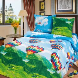 Комплект «Парад воздушных шаров» двуспальный