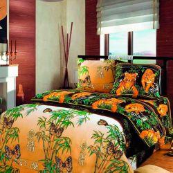 Комплект «Восточная ночь» коричневый двуспальный