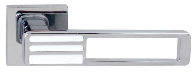Ручка 36536 «Bridge» хром/белый R ф/з