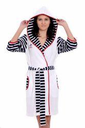 Xалат женский с капюшоном 13065 «Baglamali 1351152»