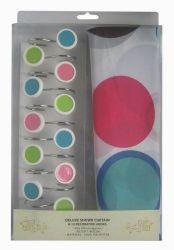 Шторы для ванной «Colorull 1352002» 180*180
