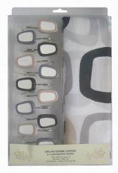 Шторы для ванной «Frame 1352005» 180*180