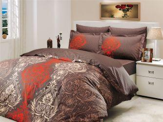 Комплект «Royal» евростандарт / коричневый