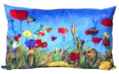 Подушка декор «Цветочное поле» 30*45