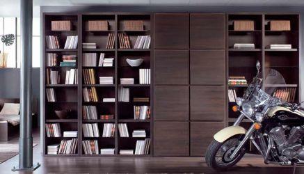 Библиотека «Доорс Light» Венге
