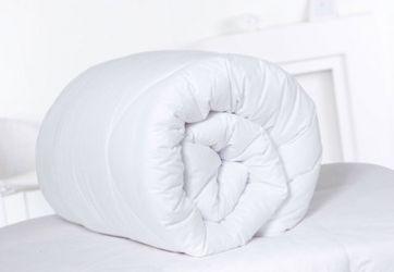 Одеяло Эталон, ранфорс, однотонное (силикон. волокно, хлопок) 150*210, ОДП