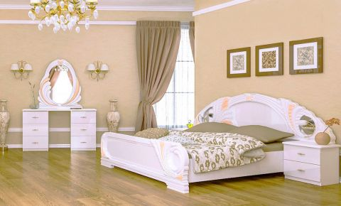 Фото Спальня «Лола Глянець Белый – Софт» - sofino.ua
