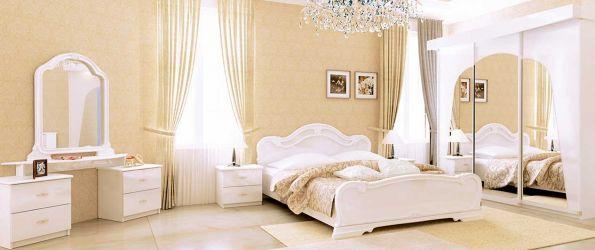 Спальня «Футура Глянец Белый – Лайт»