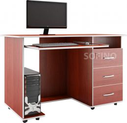 Компьютерный стол «Ника 10» без надстр.