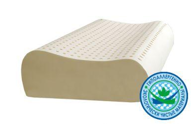 Подушка ортопедическая Ecolatex