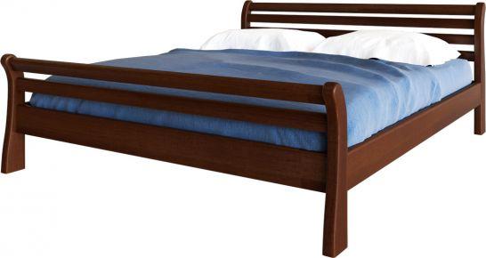 Фото Кровать деревянная «Ретро» Массив Ольхи - sofino.ua