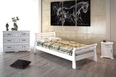 Кровать «Ретро» 90*190 | белый