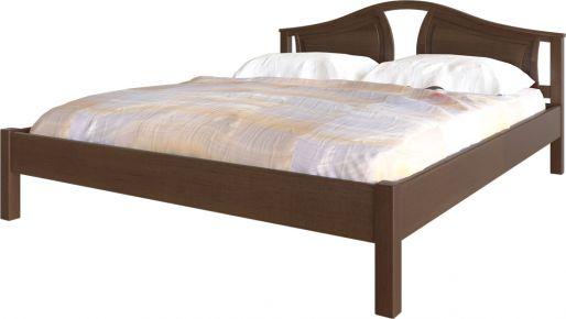 Фото Кровать деревянная «Италия» Массив Ольхи - sofino.ua