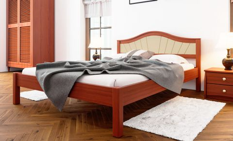 Фото Кровать «Италия с мягким изголовьем» - sofino.ua