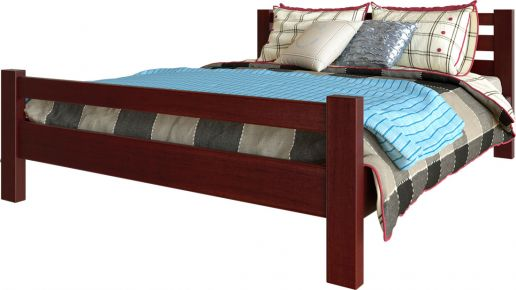 Ліжко двоспальне ЧДК Елегант - Колір на вибір