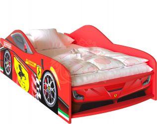 Фото Кровать-машинка «Ferrari» - sofino.ua