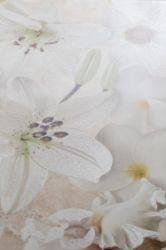 Плитка декор «Alama» 30*45 | беж цветок коричневый