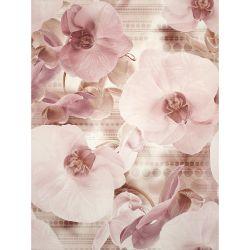 Плитка декор «Elisabeta» 45*60 | панно цветок