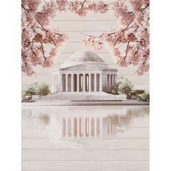 Плитка декор «Sakura» 45*60 | панно дворец