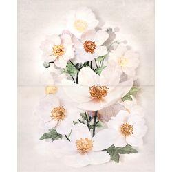 Плитка декор «Rensoria» 50*40 | панно цветок